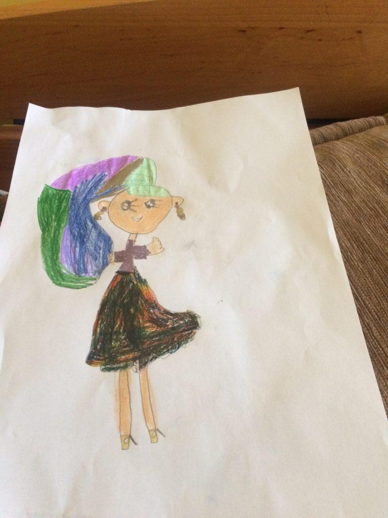Ja oczami mojej sześcioletniej córki